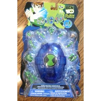 Ben Ten 10 and Clear Transparent Swampfire With Chaimber Action Hero Set New