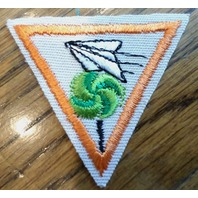 Girl Scout Merit Badge Uniform Patch Toys Pastimes Of Yesterday Try-It Triangle