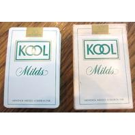 Kool Milds Cigarette Advertisement Set Of Playing Cards Euc Deck