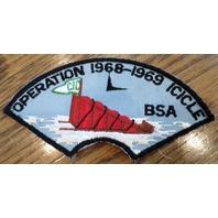 Bsa Boy Scout Uniform Operation Icicle Sa 1968-69 Bob Sled Cic