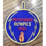 Bsa Boy Scout Uniform Patch Bsa Pathfinder Olympics 1961
