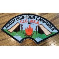Bsa Boy Scout Uniform Bsa 1968-69 Buddy Camporee Cic
