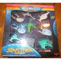 Star Trek Micro Machines Collector's Set New MIB Sealed