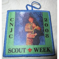 Bsa Boy Scout Uniform Patch 2008 Cnjc Scout Week