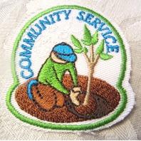 Bsa Boy Scout Uniform Scout Community Service Award Plant A Tree