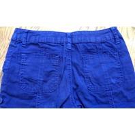 Justice New Lace Lavender Top Sz 8 & Sz 10R Navy Cotton Shorts