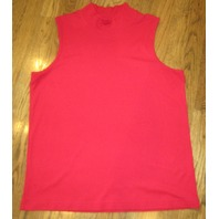 Cj Banks Red Robin Ribbed Cami Tank Holiday Memorial Day 4Th July Sz 1X 18 20