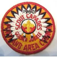 Scout Capades 1960 Golden Jubilee Portland Area Cncl Bsa Boy Scout Uniform Patch
