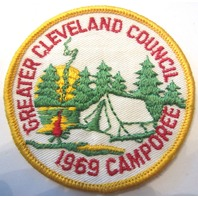 Greater Cleveland Council 1969 Camporee  Bsa Boy Scout Uniform Patch
