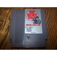 Super Nintendo Top Secret Episode Golgo 13  Game