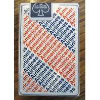 American Airlines Playing Deck Of Cards New Set Orange And Navy Writing