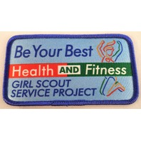 Girl Scout Gs Vintage Uniform Patch Be Your Best Health And Fitness Project
