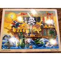 Melissa & Doug Pirate Ship Adventure Jigsaw Puzzle (48 Pieces) Aaargh!!!