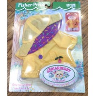 Fisher Price Briarberry Bear Berry Rain Coat Gear Hat Set outfit Set box