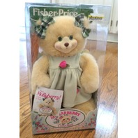 Fisher Price Briarberry Bear MollyBerry in Green Dress with box
