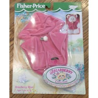 Fisher Price Briarberry Bear Berry Wear Hoodie Sweater Outfit set with box