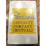 Farmer'S Casualty Company Mutual Insurance Playing Deck Of Cards Sealed New