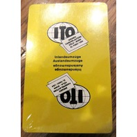 Ito Bremen Kaiserslautern Foreign European Playing Deck Of Cards Sealed New