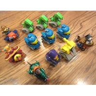 Large lot  Collection of Pullback Pull Back Action Dinosaur Robot Cars