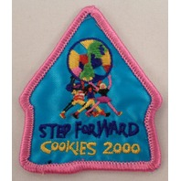 Girl Scout Patch Cookies 2000 Step Forward #Gspk