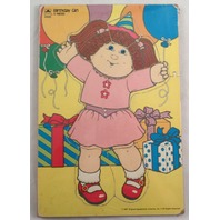 Cpk Cabbage Patch Kids 1987 Wooden Puzzle 9 Pc Birthday Party Doll