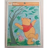 Winnie The Pooh Walt Disney Frame Tray Puzzle By Whitman