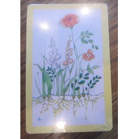 Trump Usa Floral Garden Botanical Flower Sealed Playing Deck Of Cards