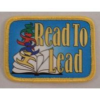 Girl Scout Patch Read To Lead Gs #Gsyl