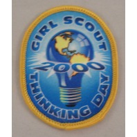 Girl Scout Patch 2000 Thinking Day #Gsyl