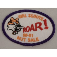 Girl Scout Patch Tiger Roar 00-01 Nut Sale #Gspp