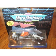 Micro Machines Return of the Jedi Colletion 3 Star Wars Imperial AT-ST B-Wing