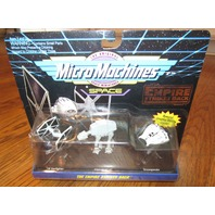 Micro Machines Return of the Jedi Collection 2 Star Wars Starfighter Snowspeeder