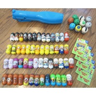 Mighty Beanz Over 50+ Jumping Wiggling Beans Huge Lot Collection