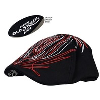 Hot Leathers Pinstripe Proper Pub Cap Size L/Xl New With Tags