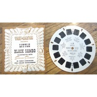 Sawyers View-Master Ft-8 Little Black Sambo Reel With Booklet