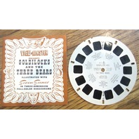 View Master Vintage Sawyer'S Inc View-Master Reel Goldilocks And The Three Bears