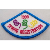 Girl Scout Gs Uniform Patch 1999 Spring Registration #Gsbl