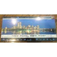 New York, Ny (Panoramic) Jigsaw Puzzle By Buffalo  New And Sealed In Box
