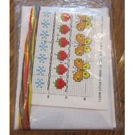 """Sunset Counted Cross Stitch """"I Love Little Things"""" #921 New"""