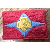 Girl Scout Uniform Patch Gs Trefoil With Blue Diamond