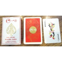 Cal China Airlines Republic Of China Playing Deck Of Cards