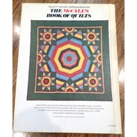 The Mccall'S Book Of Quilts Softback Book/Dated 1977 Hard Back Hb 77 Full Color