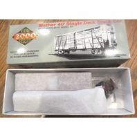Life-Like Proto 2000 Series Ho Scale Mather 40' Single Deck Stock Car Train Box