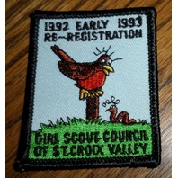 Girl Scouts Gs Vintage Uniform Patch Early Bird Registration St. Croix Valley