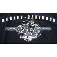 Harley Davidson High Desert Boise, Id  Short Sleeve T-Shirt Mens Xxl Excellent