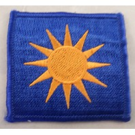 Sun Us Army 40Th Infantry Division Od Border Patch Uniform Patch