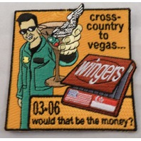 Cross Country To Vegas Wingers Uniform Military Patch 03-06
