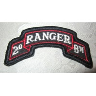 Ranger Navy And Red 20 Bn Uniform Patch