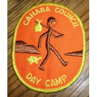 Girl Scouts Gs Vintage Uniform Patch Cahaba Council Day Camp