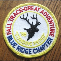 Royal Rangers Rr Uniform Patch Fall Trace-Great Adventurer Blue Ridge Chapter 98